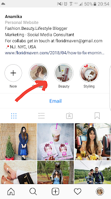 How to use Instagram highlight feature