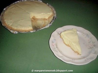 Margaret's Morsels | Lemonade Pie