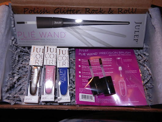 Polish. Glitter. Rock & Roll!: Julep Plie Wand Reveal