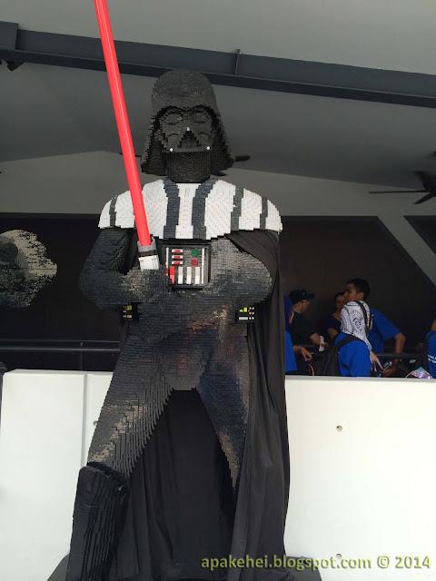 Legoland - Dark Vader