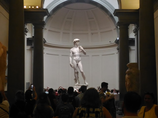 statue of david florence italy