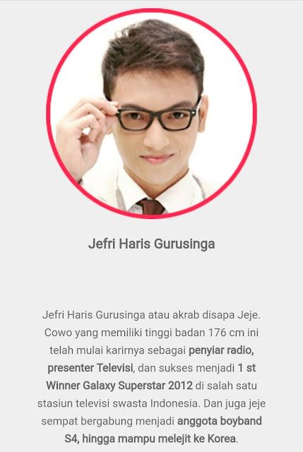 Kuis Duit Live Host - Jefri Haris Gurusinga