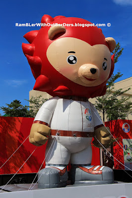 Nila, SEA Games mascot, Sports Hub, Singapore