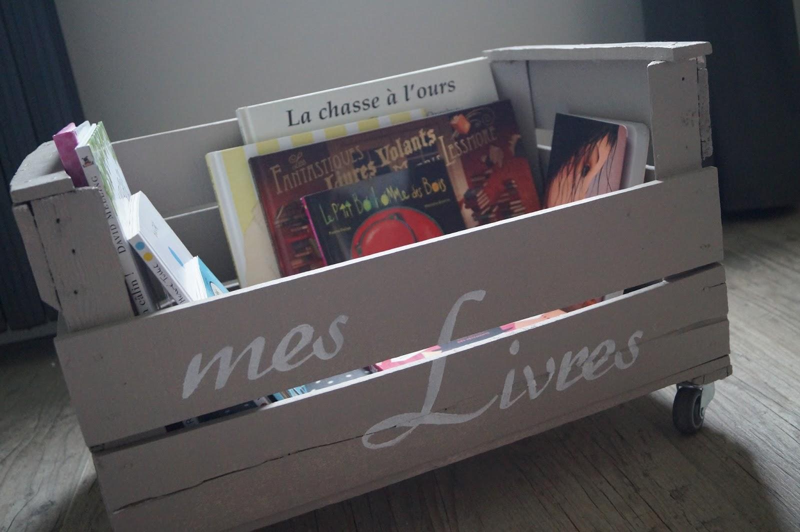 Tuto r aliser une caisse pour enfant partir d 39 une vieille caisse en bois - Bibliotheque caisse bois ...