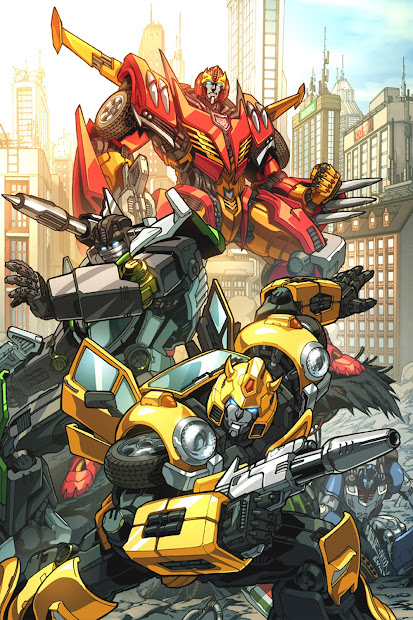 Transformers IDW Hot Rod