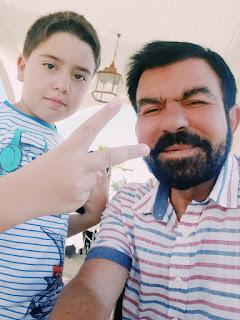 Седат Игдеджи с сыном - Бекиром Игдеджи