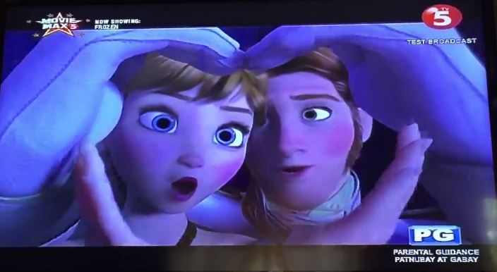 'Tagalized' version of Frozen trends online