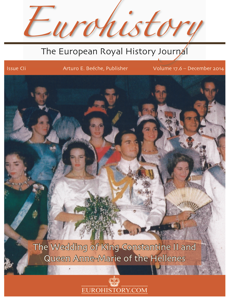 I Wrote The Cover Story Wedding Of King Constantine Ii And Queen Anne Marie On Occasion Their 50th Anniversary