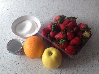 Ingredientes mermelada de fresas