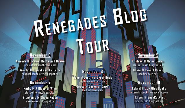 Renegades Blog Tour postcard
