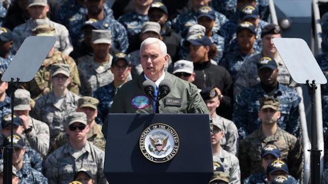 """EEUU advierte: """"la espada está lista"""" contra Pyongyang"""