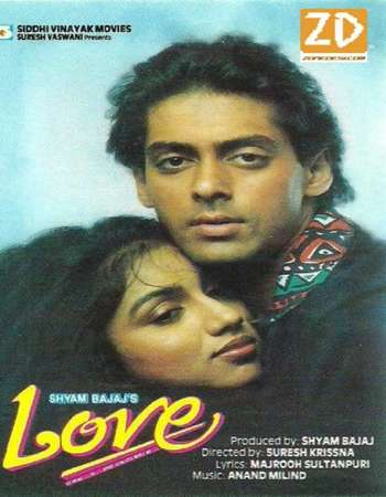 Love 1991 Hindi 700MB HDRip 720p HEVC