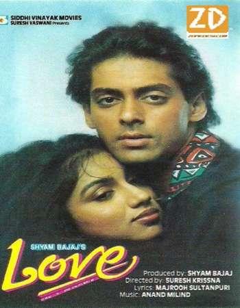 Love 1991 Full Hindi Movie HDRip Download