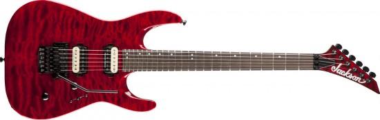 Đàn Guitar Jackson DK2Q Dinky Trans Red
