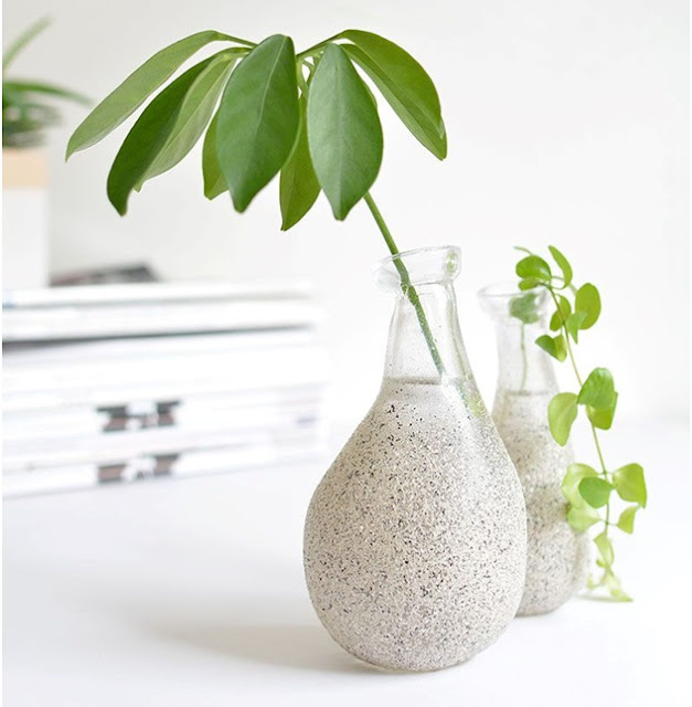 el yapımı vazolar