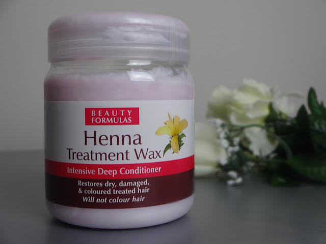 beauty formulas henna treatment wax intensive deep conditioner review