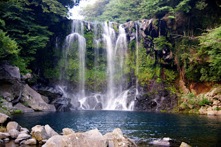 Cheonjeyeon Waterfalls
