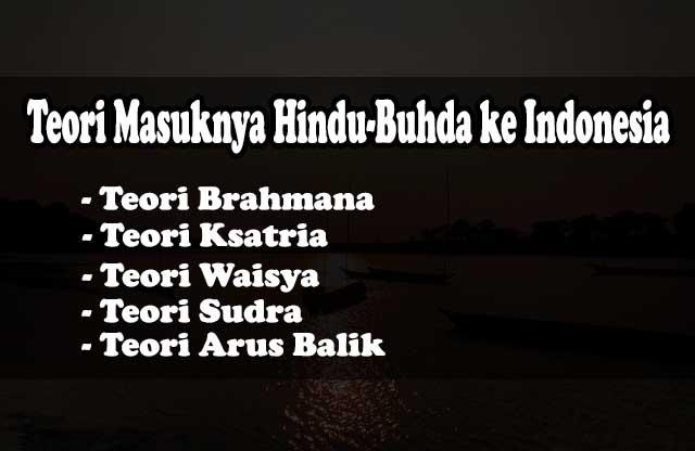 teori masuknya hindu-budha ke indonesia