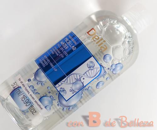 Agua micelar hidratante