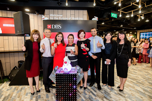 Launch of new DBS Multiplier & Opening of Plaza Singapura branch