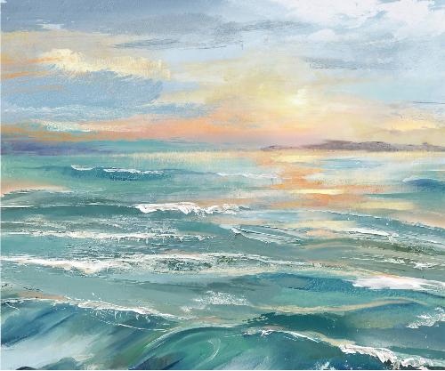 Ocean Art Painting Canvas Prints