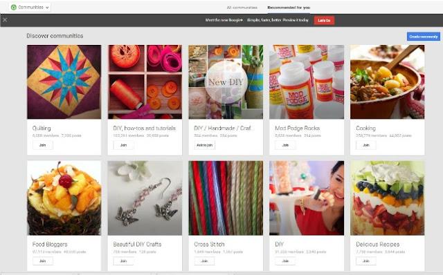 Google + Plus bloggers tips increase readers communities