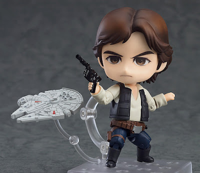 "Nendoroid Han Solo de ""Star Wars  Episode 4: A New Hope"" - Good Smile Company"