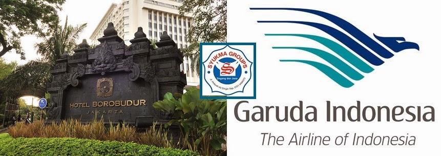 Garuda Resmikan Kantor Layanan 24 Jam di Hotel Borobudur Jakarta