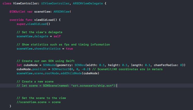 STUDY / iOS SCNKit and ARKit from Zero