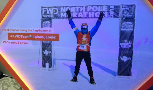 PH Welcomes Home FWD North Pole Marathon Athlete Louie Sangalang, Finishes 42-kilometer Grueling Race