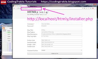 Install HTMLy 2.7.4 flat-file CMS / Blog on Win7 localhost via XAMPP ( PHP7 ) 13
