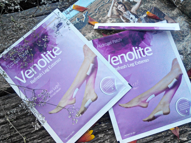 Labottach Venolite Refresh Leg Extenso Hydrogel Patch Гидрогелевые патчи для уставших ног