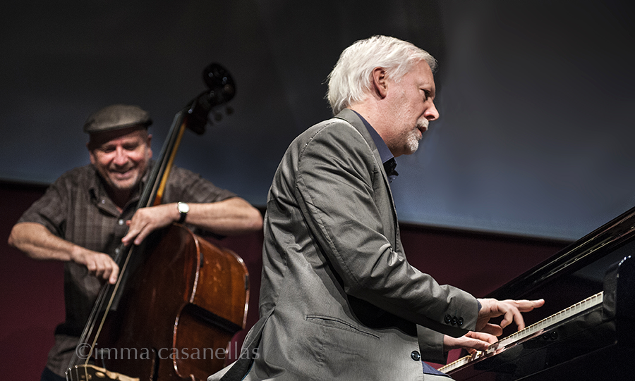 Ignasi Terraza amb Horacio Fumero, Auditori Vinseum, Vilafranca del Penedès, 17-set-2016