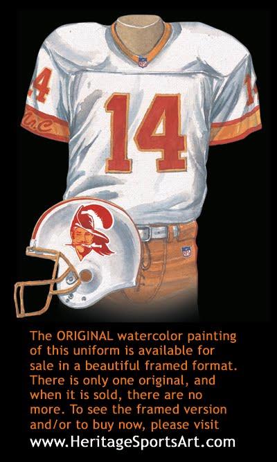 4d29c2d3 Tampa Bay Buccaneers Uniform and Team History | Heritage Uniforms ...