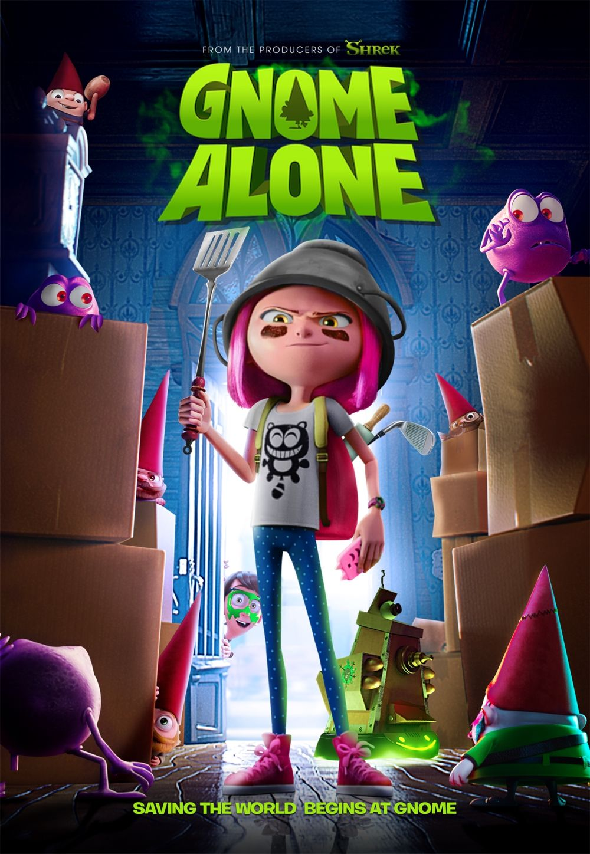 Gnome Alone [2017] [DVDR] [NTSC] [Latino]