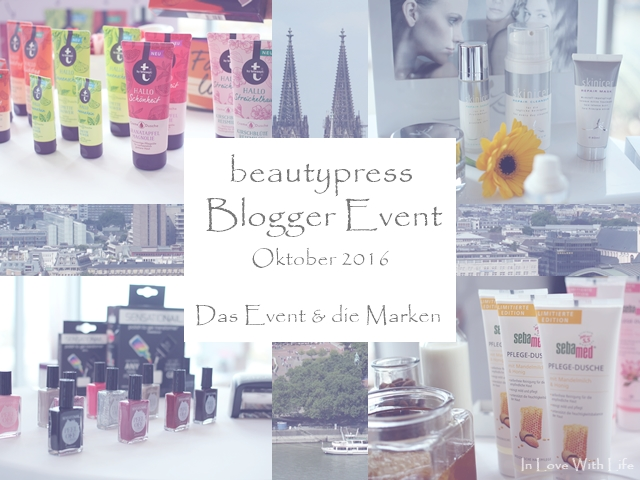 beautypress Blogger Event Oktober 2016