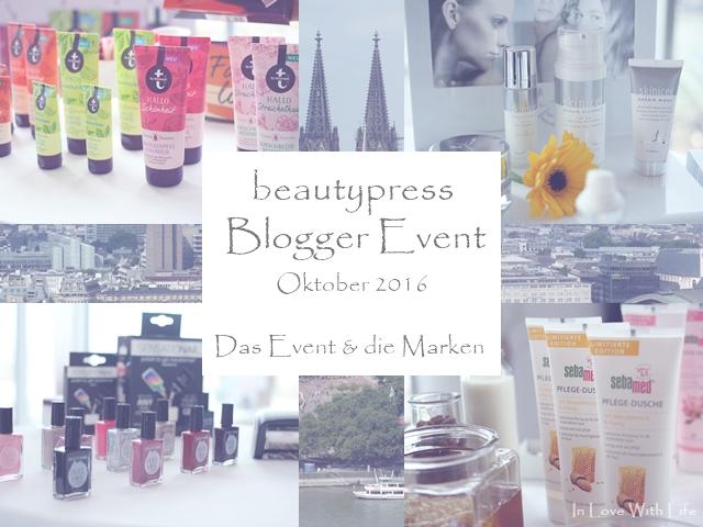 beautypress Blogger Event Oktober 2016