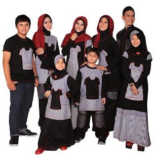 Model-Model Baju Muslim Modern Lebaran 2017