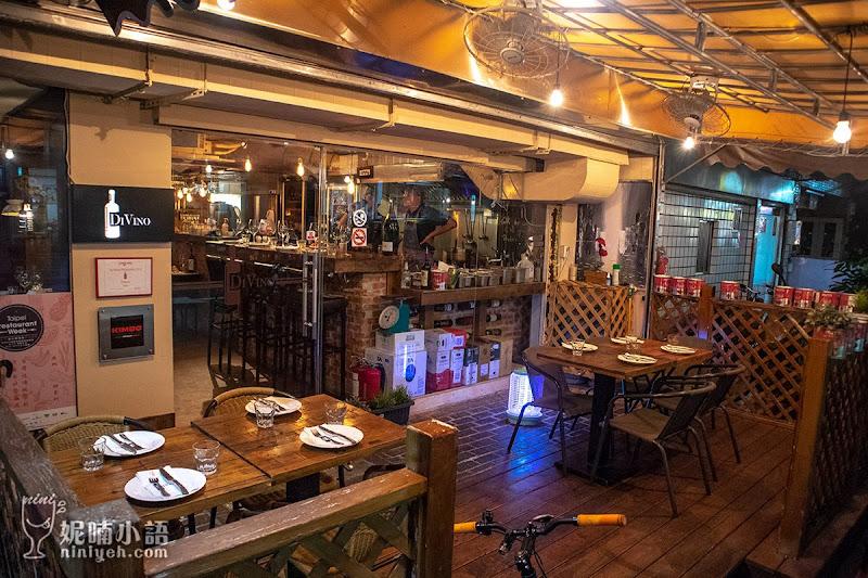 【台北美食】DiVino Taipei。紅蝦評鑑點名道地義大利小餐酒館