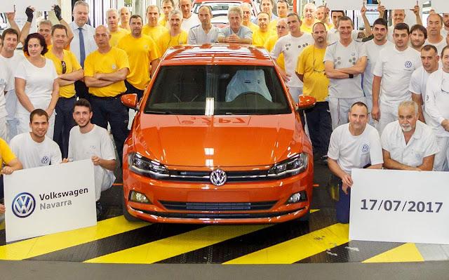 Volkswagen Polo 2018 começa a ser produzido em série