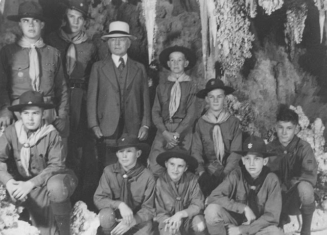 Frederick Russell Burnham Boy Scouts Carlsbad Caverns New Mexico 11 May 1941 worldwartwo.filminspector.com