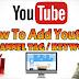How Add Tag / Keyword On YouTube Channel