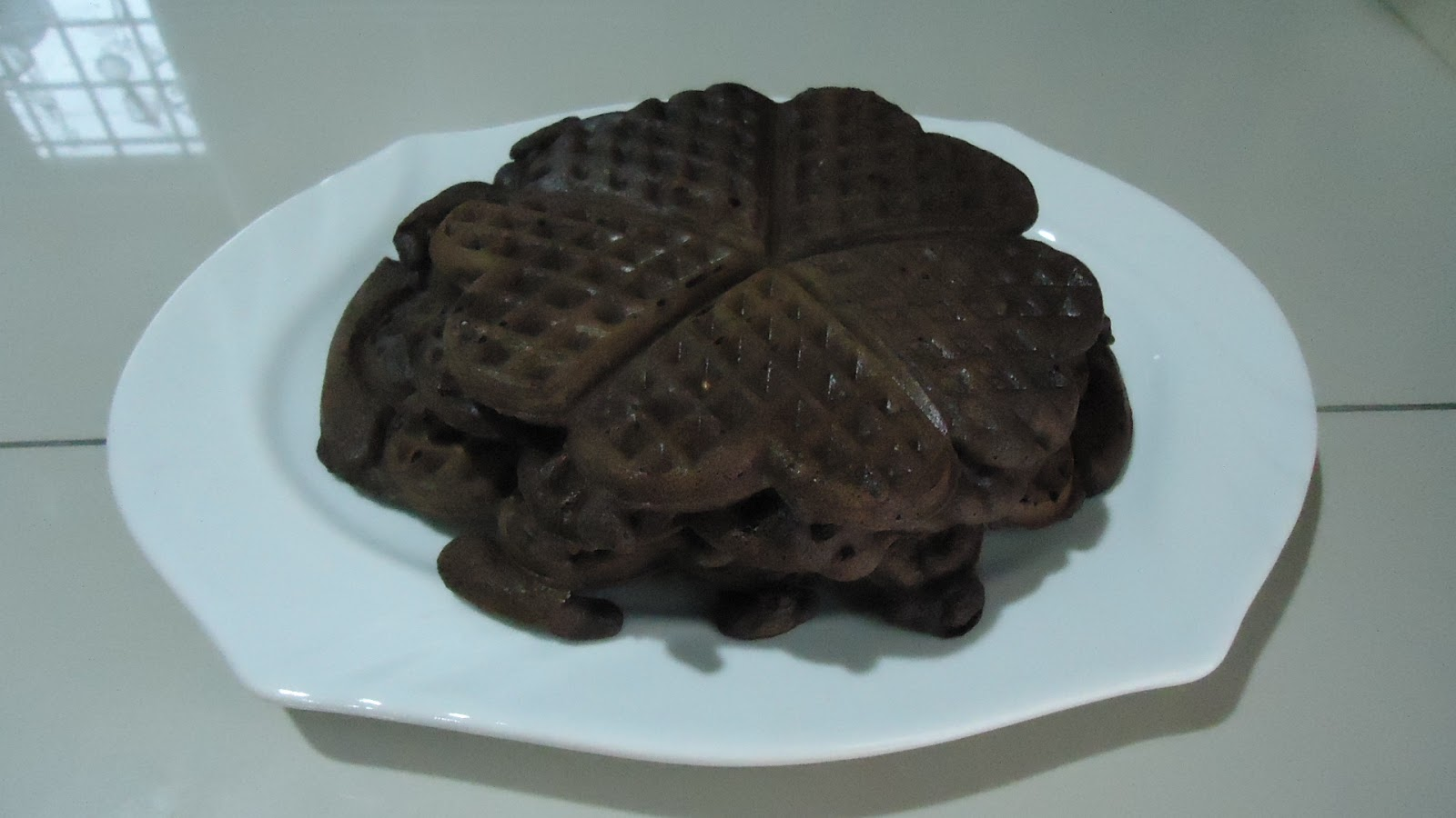 Zara ♥ Baking: CHOCOLATE WAFFLES 1...