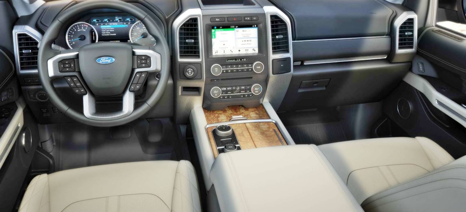 2018 Expedition King Ranch Interior
