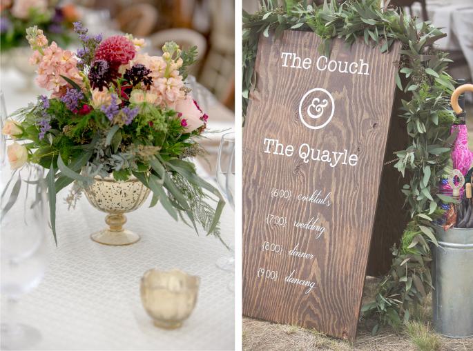 Photographer: Arnica Spring Photography / Wedding Design, Planning, & Wedding Flowers: Katalin Green