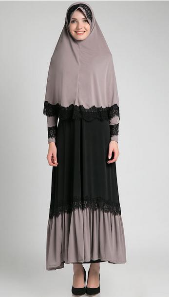 Desain Baju Hamil Muslim Untuk Lebaran Masa Kini