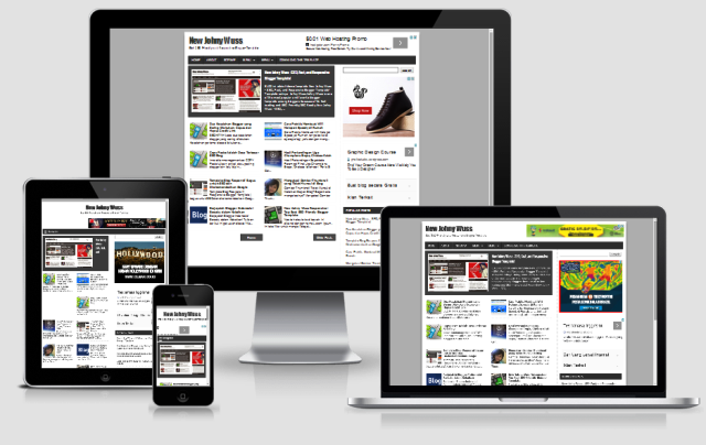 New Johny Wuss - SEO Friendly & Responsive Blogger Template
