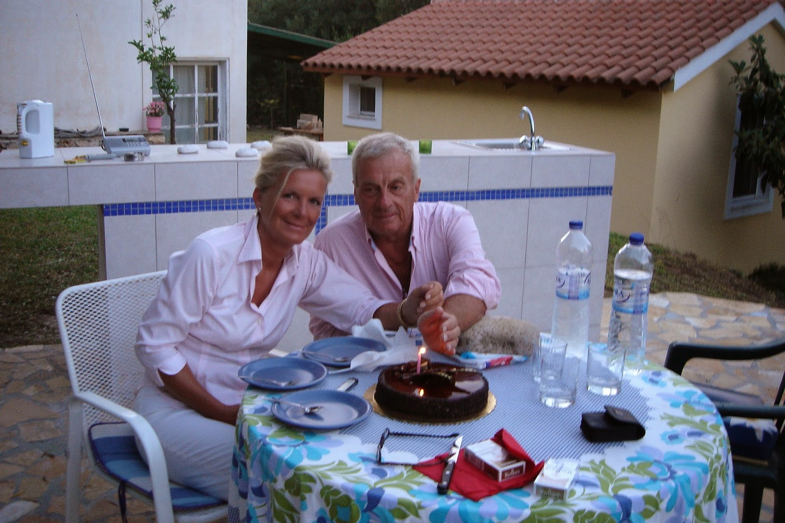 My birthday.Kefalonia
