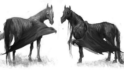 Illustrazioni di Thestral