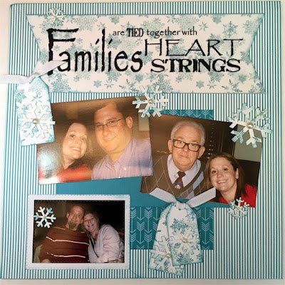 2017 January Club Q Scrapbook Page designed by Alicia O'Bryant for Quick Quotes